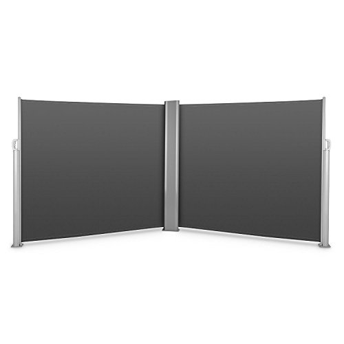Blumfeldt Bari Doppio 616 Doppel-Seitenmarkise 600 x 160cm anthrazit