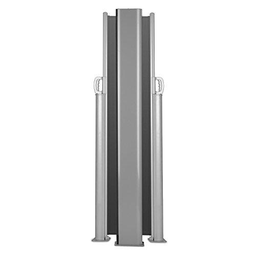 Blumfeldt Bari Doppio 616 Doppel-Seitenmarkise 600 x 160cm anthrazit - 5
