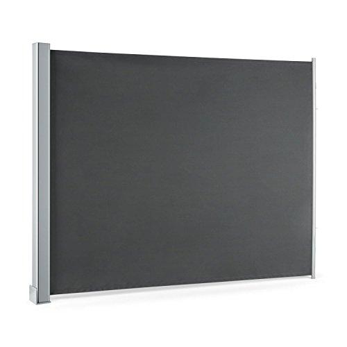 Blumfeldt Cosmo Balkonmarkise  Seitenmarkise 150 x 200 cm anthrazit