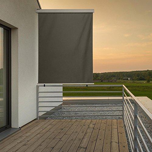Blumfeldt Cosmo Balkonmarkise  Seitenmarkise 150 x 200 cm anthrazit - 3
