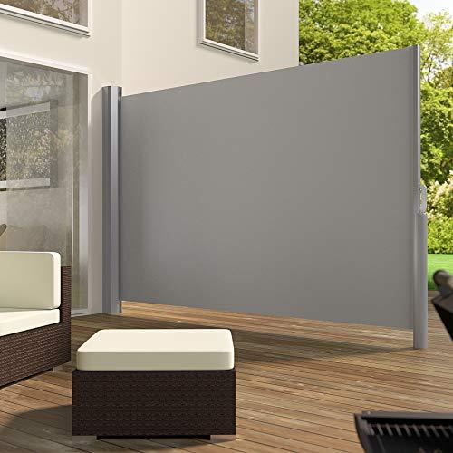 TecTake Seitenmarkise Grau 200×300 cm - 2