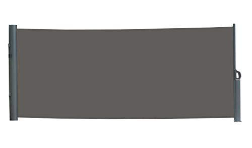 Vanvilla Seitenmarkise Anthrazit 180x300 cm