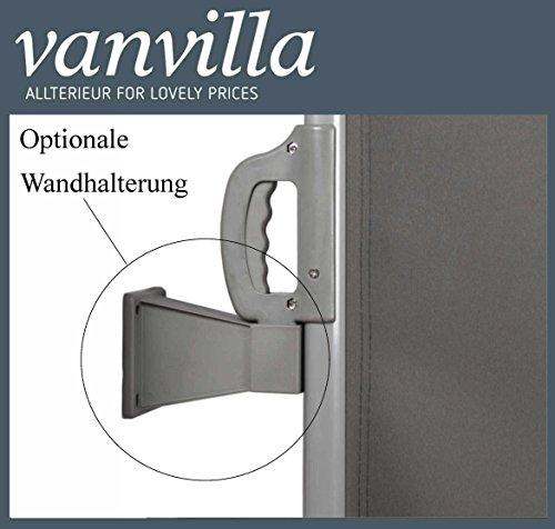 Vanvilla Seitenmarkise Anthrazit 180×300 cm - 5