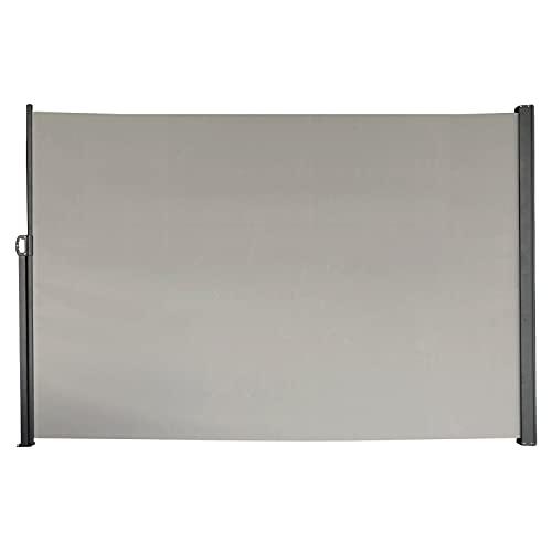 SVITA Seitenmarkise 160 x 300 cm Grau