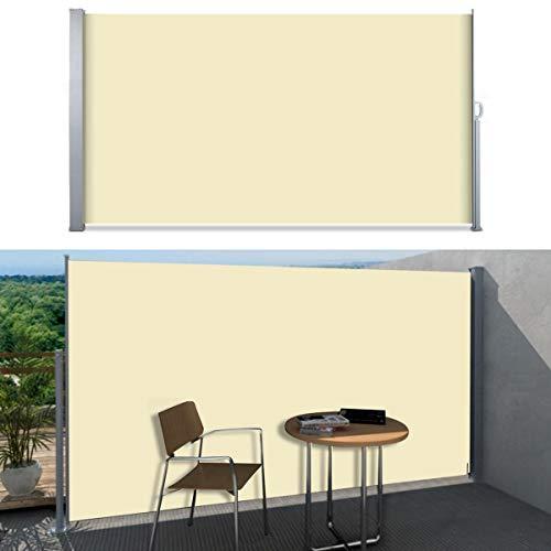 SVITA Seitenmarkise 160 x 300 cm Beige