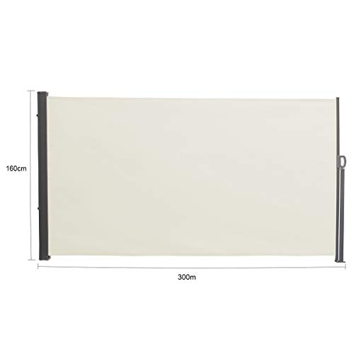 SVITA Seitenmarkise 200 x 300 cm Beige - 3
