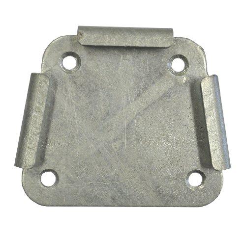 Leco Adapterplatte für Standrohr und Endhülse zur Seitenmarkise