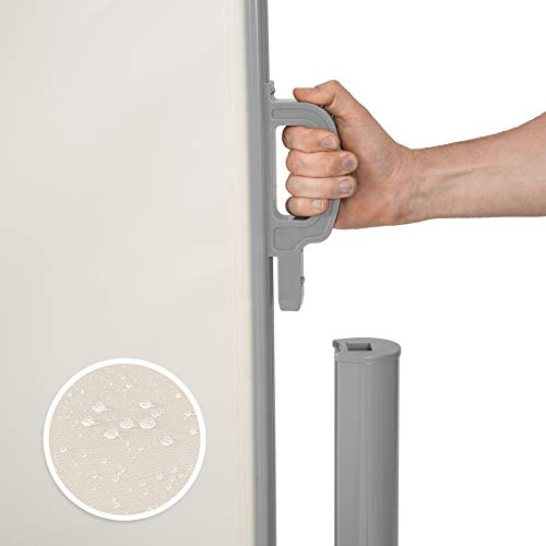 TecTake Doppel-Seitenmarkise Beige 180×600 cm - 5