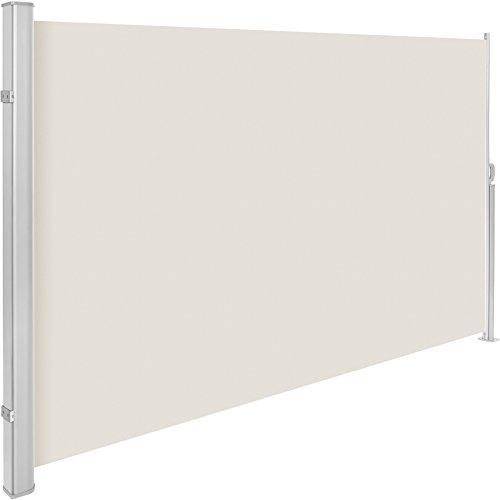 TecTake Seitenmarkise Beige 180x300 cm