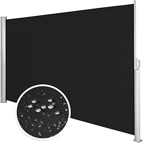 TecTake Seitenmarkise Schwarz 160×300 cm - 5