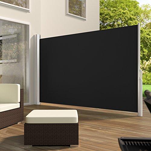 TecTake Seitenmarkise Schwarz 180×300 cm - 2