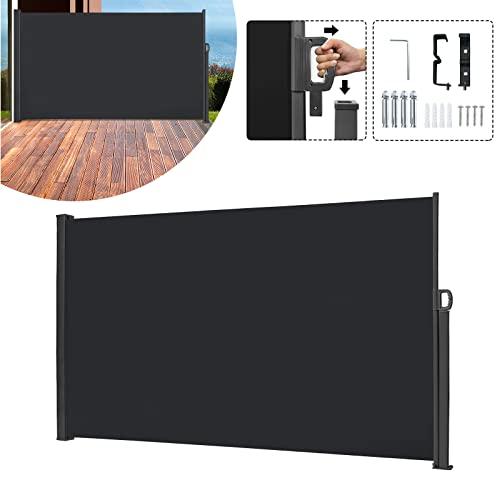 SAILUN® Seitenmarkise 160 x 300 cm Anthrazit