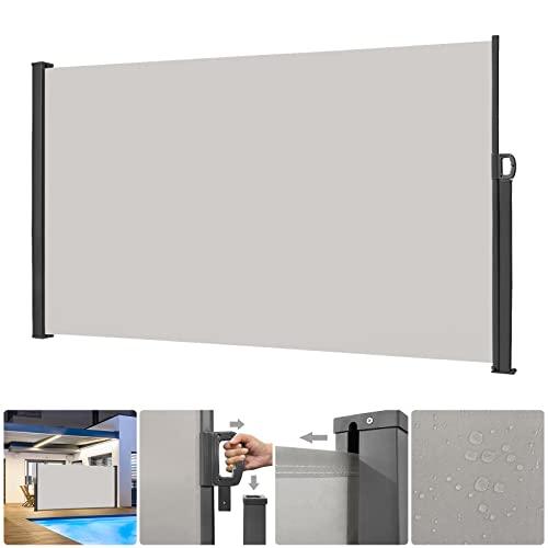 SAILUN® Seitenmarkise 160 x 300 cm Grau