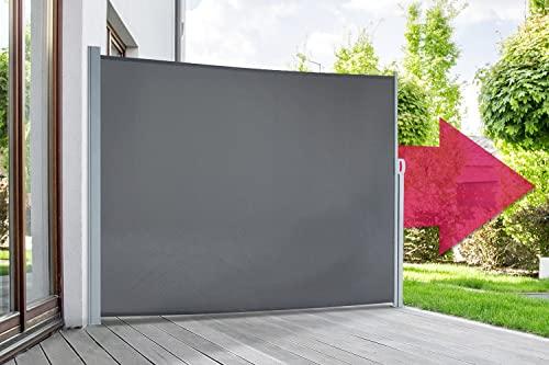 empasa Seitenmarkise 160 x 450 cm anthrazit