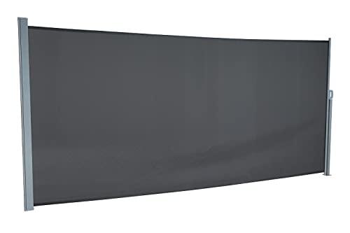 empasa Seitenmarkise 180 x 450 cm anthrazit - 2