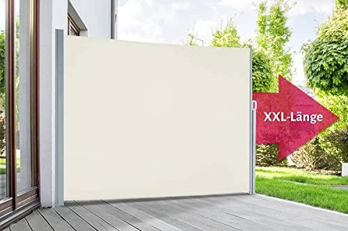empasa Seitenmarkise 200 x 450 cm creme