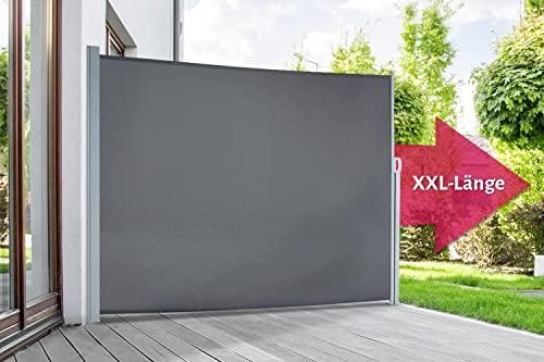 empasa Seitenmarkise 200 x 450 cm anthrazit