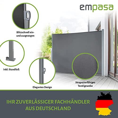 empasa Seitenmarkise 200 x 450 cm anthrazit - 2