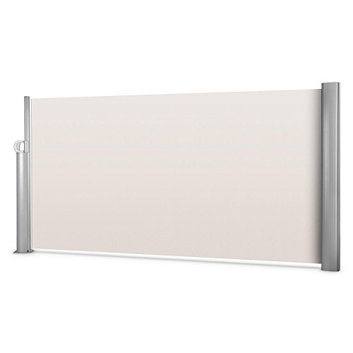 Blumfeldt Bari 316 Seitenmarkise 300 x 160 cm creme-sand - 8