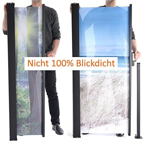 Seitenmarkise mit Foto Wald 160 x 300 cm - 3