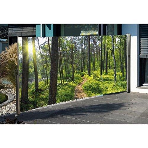 Seitenmarkise mit Foto Wald 160 x 300 cm - 7