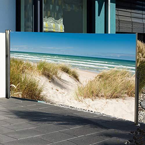 Seitenmarkise mit Fotodruck Ostsee 160 x 300 cm - 2