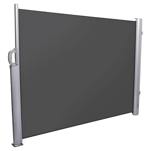 NOOR Seitenmarkise 120x350 cm anthrazit