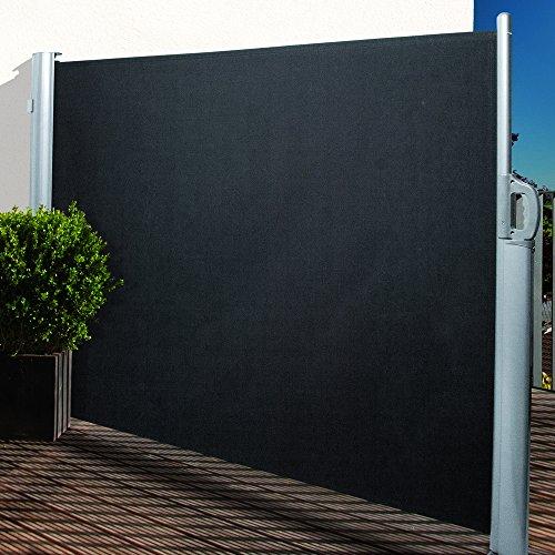 Noor Seitenmarkise 160 x 300 cm anthrazit