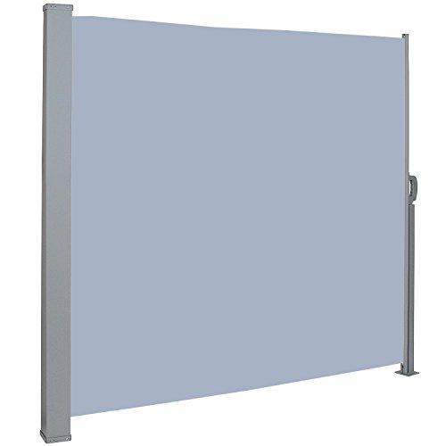 MCTECH® Seitenmarkise 160 x 300 cm Grau
