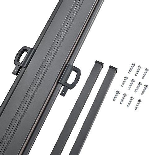 [pro.tec] Doppelte Seitenmarkise 160 x 600 cm Beige - 5