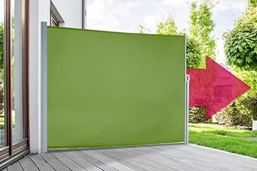 empasa Seitenmarkise 180 x 450 cm grün