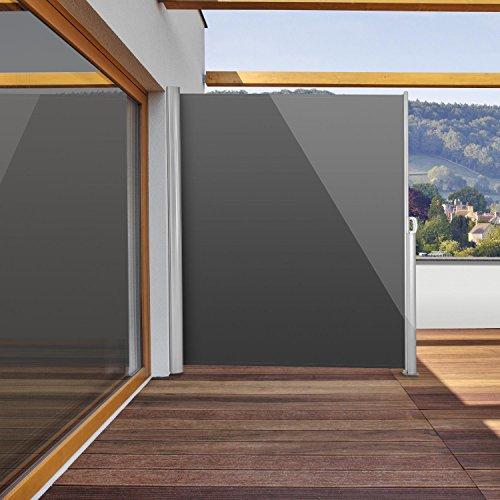 Blumfeldt Bari 320 Seitenmarkise 300 x 200cm anthrazit - 2