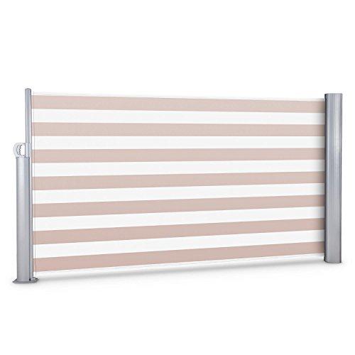 Blumfeldt Bari 316 Seitenmarkise 300 x 160cm creme-weiß