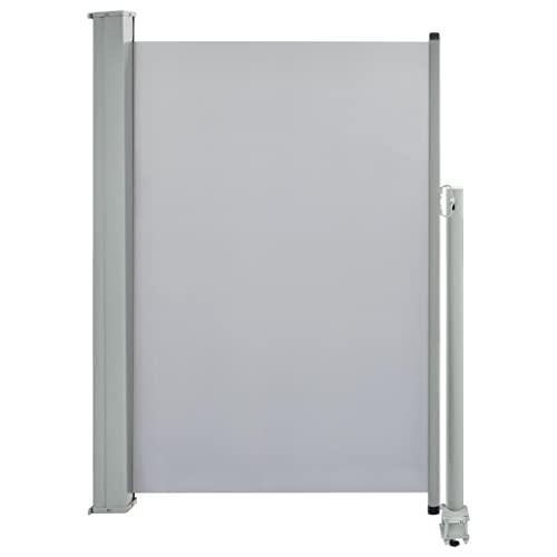 vidaXL Seitenmarkise 120x300 cm Grau