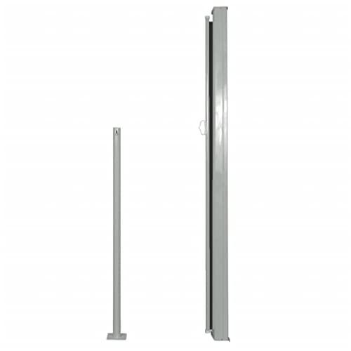 vidaXL Seitenmarkise 160×500 cm schwarz - 3