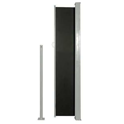 vidaXL Seitenmarkise 160×500 cm schwarz - 4