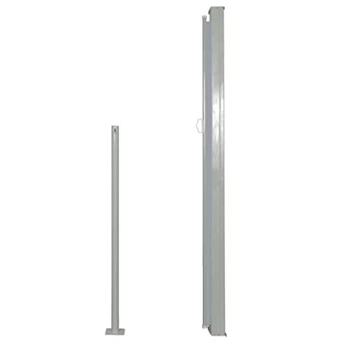 vidaXL Seitenmarkise 160×500 cm Grau - 3