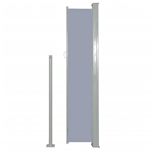vidaXL Seitenmarkise 160×500 cm Grau - 4
