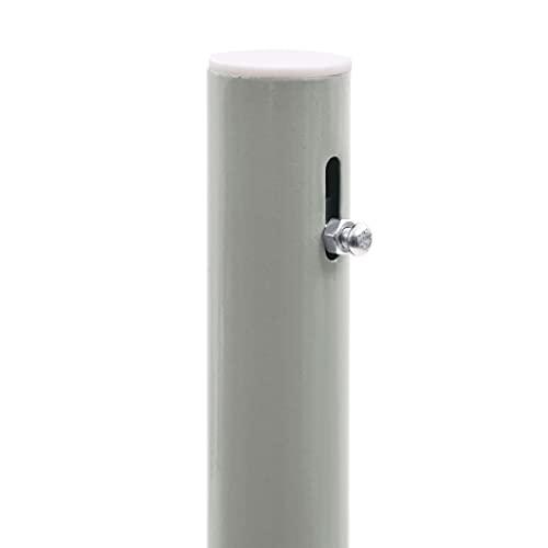 vidaXL Seitenmarkise 160×500 cm Grau - 5
