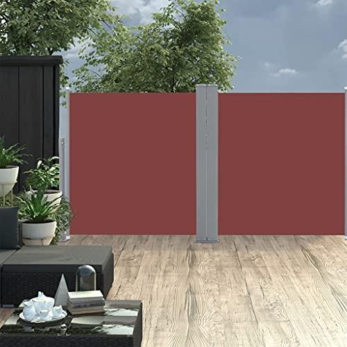 vidaXL Doppel-Seitenmarkise 170×600 cm Schwarz - 6