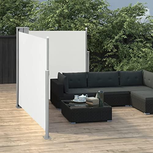 vidaXL Doppel-Seitenmarkise 170×600 cm Schwarz - 8
