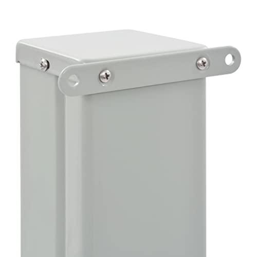 vidaXL Seitenmarkise 160×300 cm Creme - 5