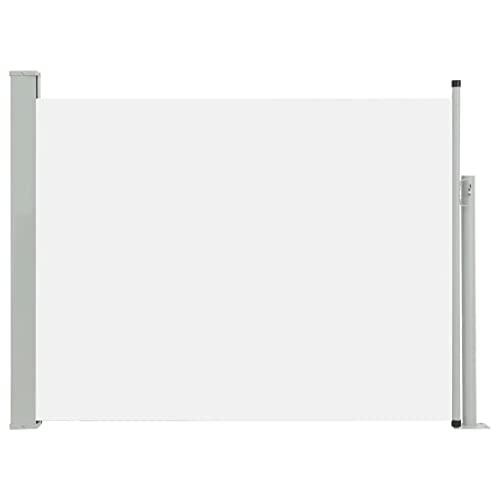 vidaXL Seitenmarkise 170x500 cm Creme