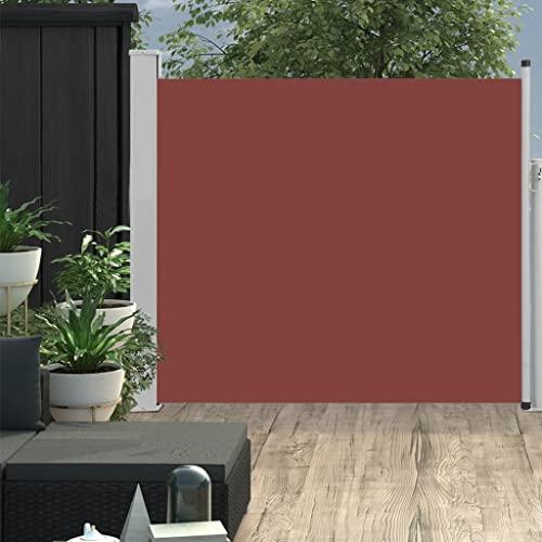 vidaXL Seitenmarkise 170×500 cm Creme - 4