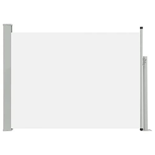 vidaXL Seitenmarkise120x500 cm Creme