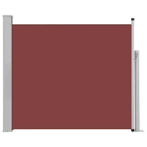 vidaXL Seitenmarkise120x500 cm Creme - 2