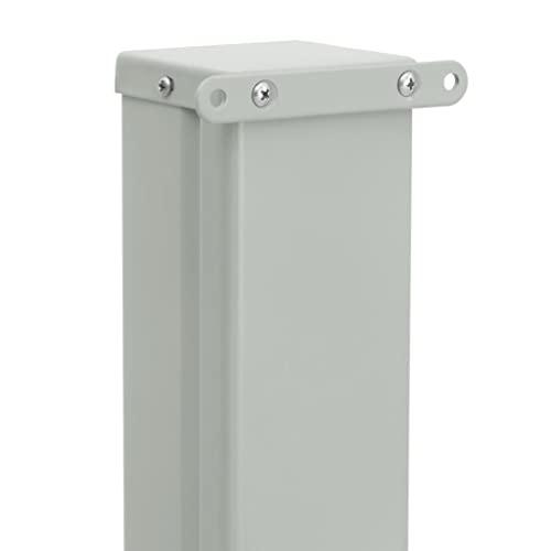 vidaXL Seitenmarkise120x500 cm Creme - 3