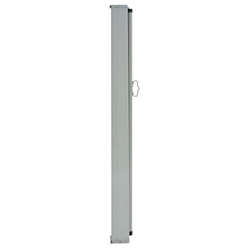 vidaXL Seitenmarkise 100×300 cm Grau - 3
