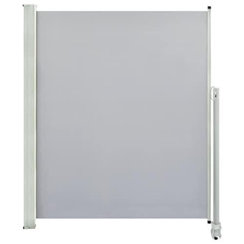 vidaXL Seitenmarkise 160x300 cm Grau