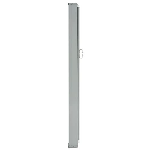 vidaXL Seitenmarkise 160×300 cm Grau - 2